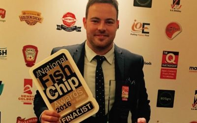 The Fish Bar Crewe Nets From Field to Frier Award